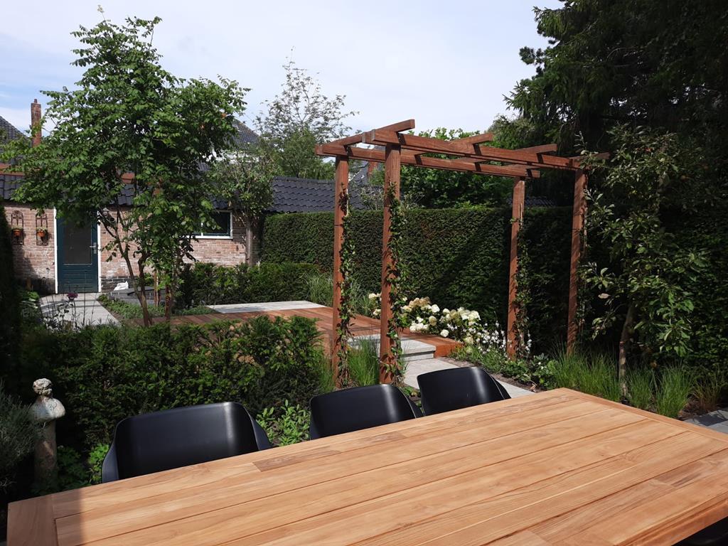 foto van Split-leveltuin in Heemstede