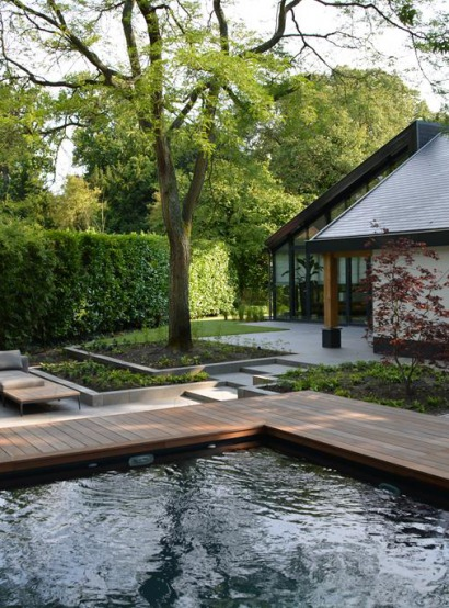 Bekijk het project Tuinaanleg met zwembad