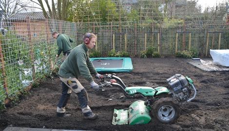 Aanleggen van uw nieuwe tuin
